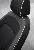 Текстильная обивка сидений