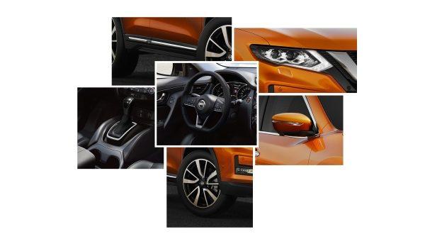 X-Trail nissan dizainas fakto auto
