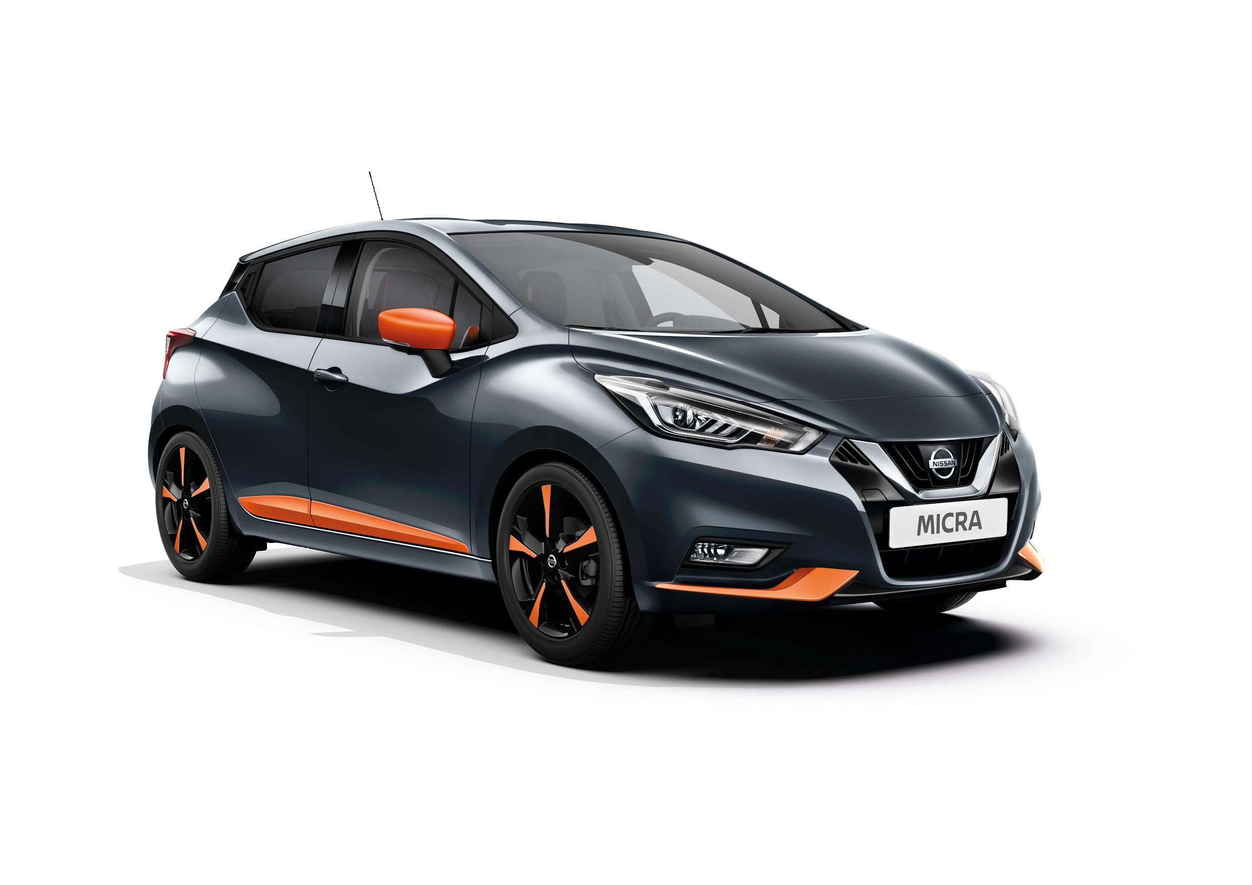 Automobiļa virsbūves sānu uzlikas, Energy Orange