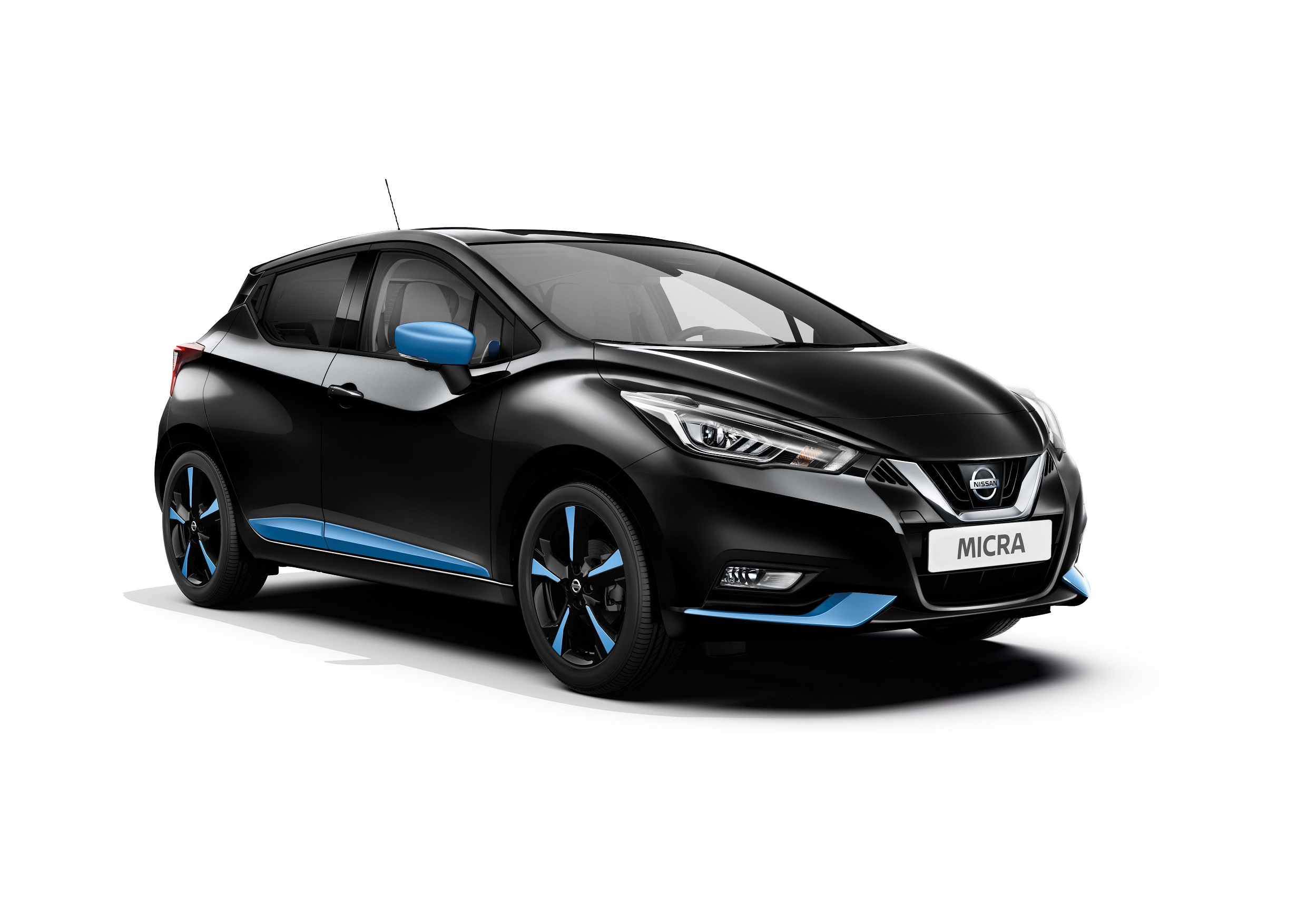 Automobiļa virsbūves sānu uzlikas, Power Blue