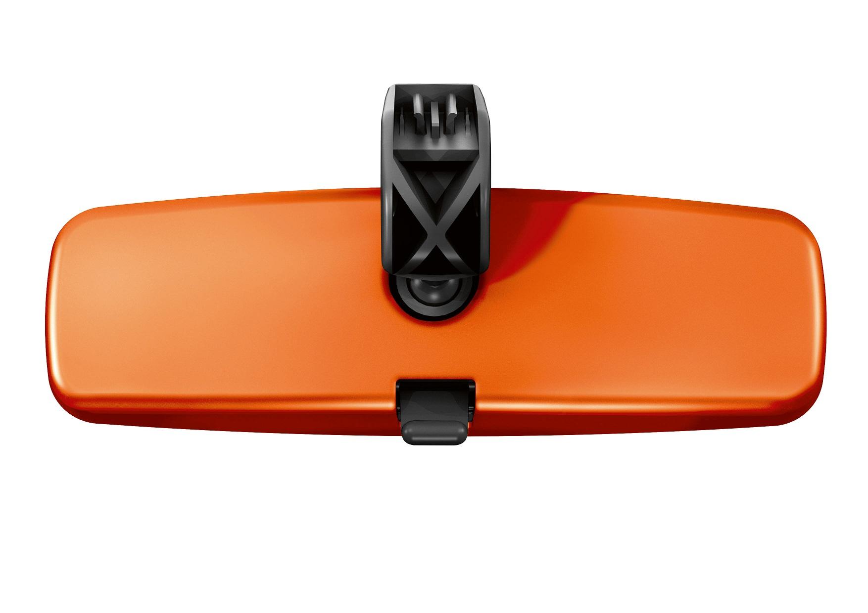 Automobiļa salona atpakaļskata spoguļa uzlika, Energy Orange