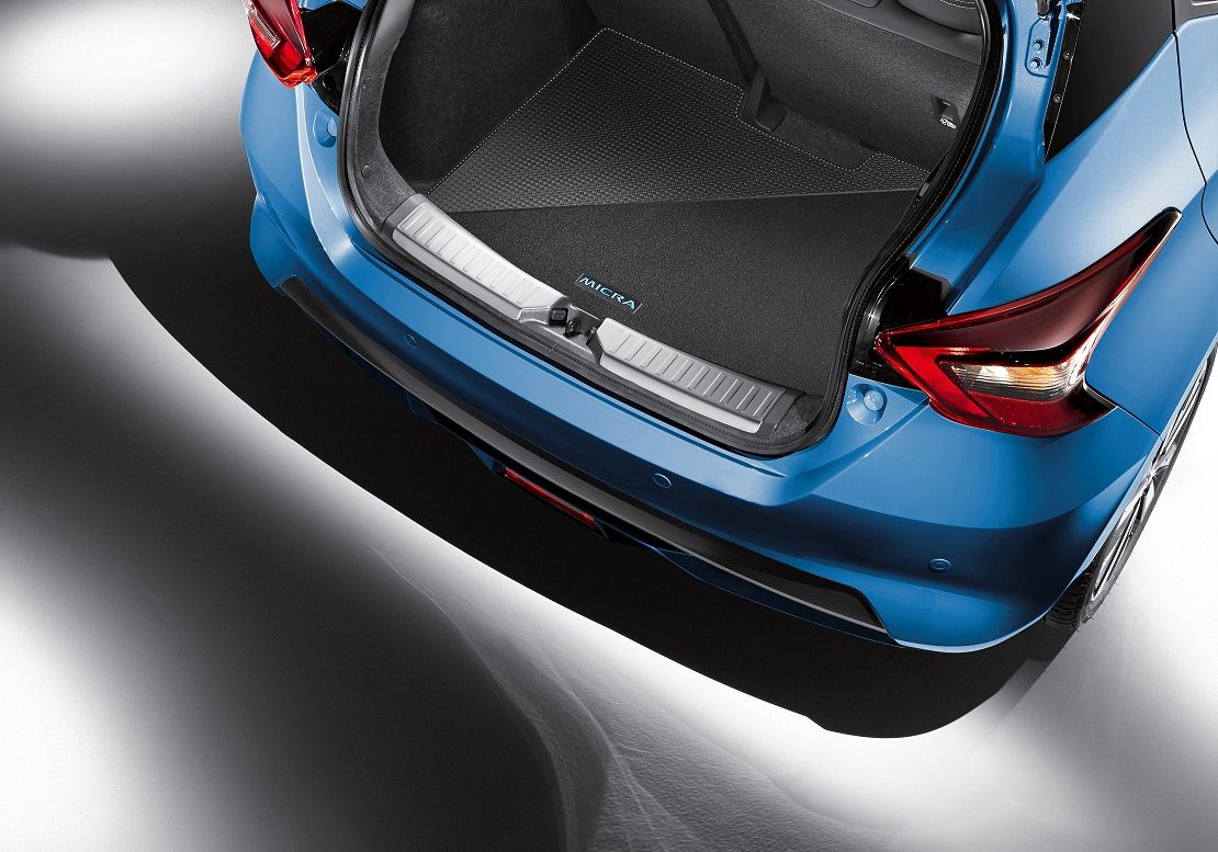 Mīkstais bagāžas nodalījuma grīdas paklājs (abpusējs), Power Blue