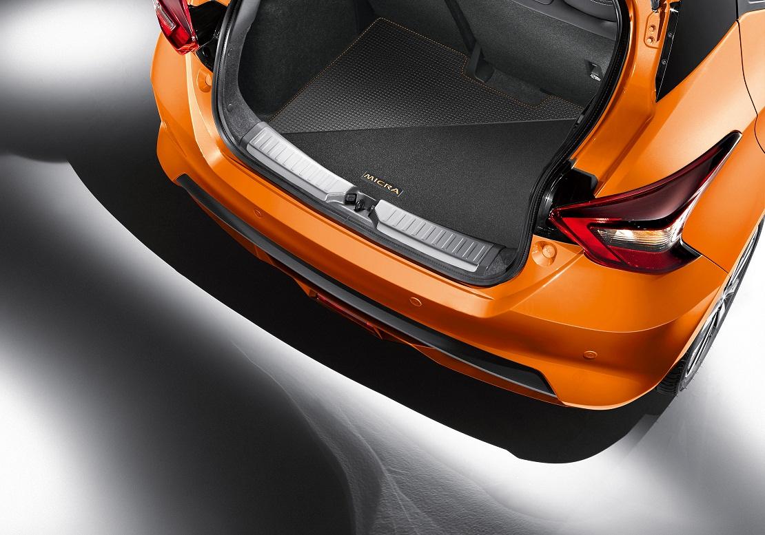 Mīkstais bagāžas nodalījuma grīdas paklājs (abpusējs), Energy Orange