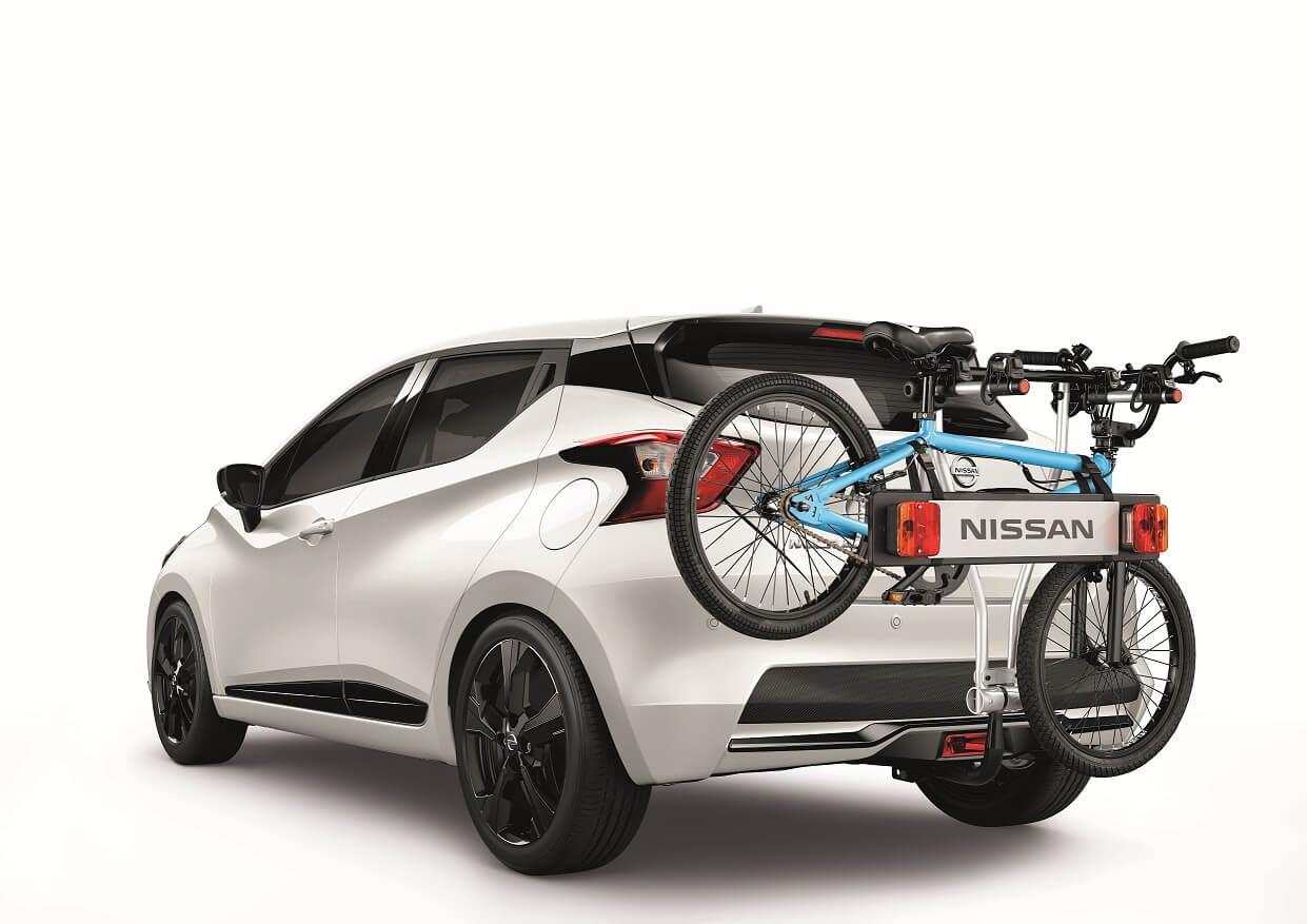 Hangon velosipēdu turētāju papildaprīkojums – automobiļa valsts reģistrācijas numura zīmes turētājs, 7 tapu