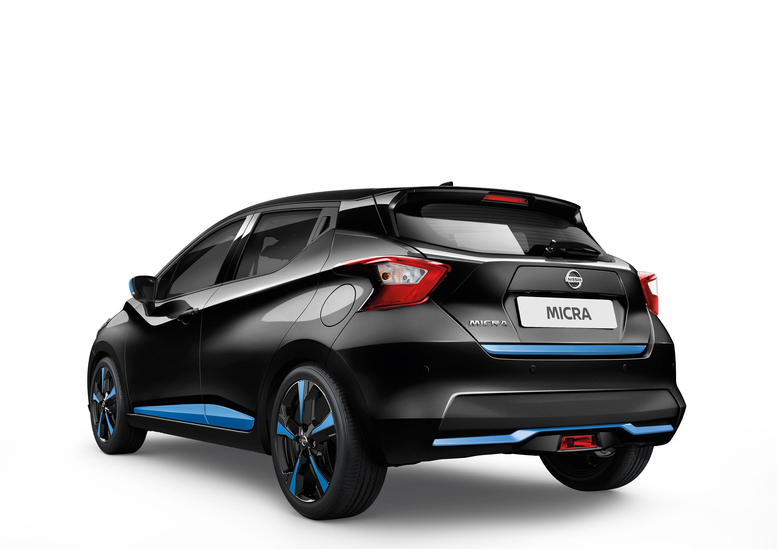Automobiļa aizmugures dekoratīvā uzlika, Power Blue