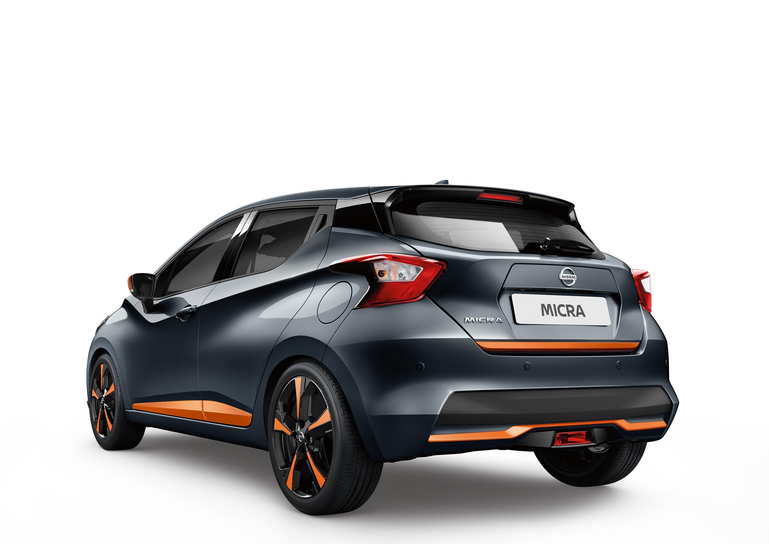 Automobiļa aizmugures dekoratīvā uzlika, Energy Orange