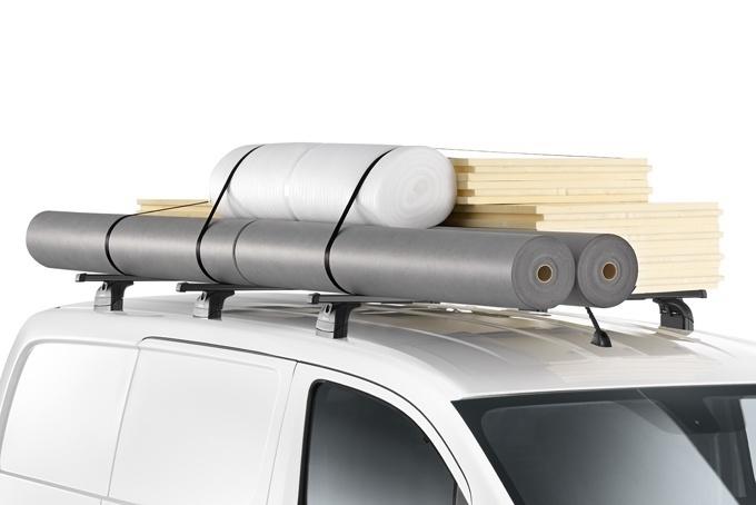 Stogo bagažinės skersiniai (3 skersiniai, profesionaliam naudojimui)