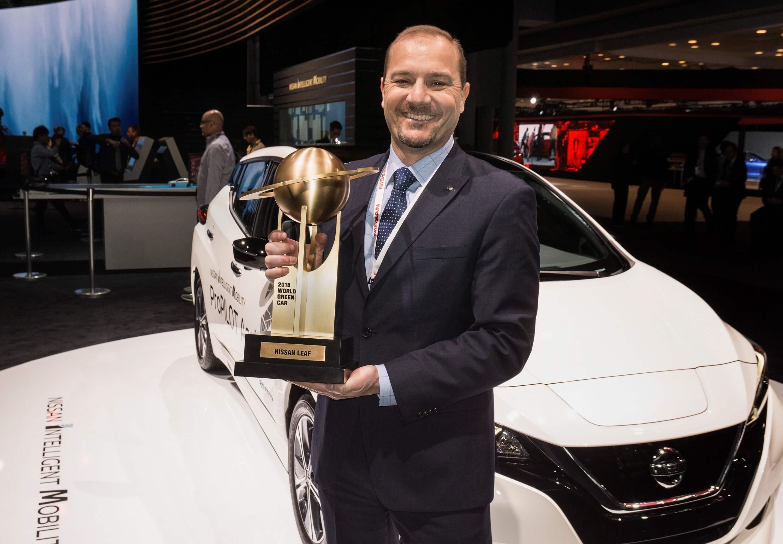 Uus 2018. aasta Nissan LEAF nimetati 2018. aasta maailma ökoautoks