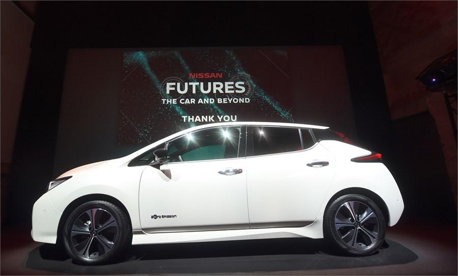 Nissan lanserer flere elbil-nyheter samt dobbelt så rask hurtiglader