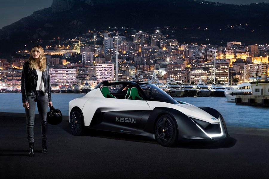 Skådespelerskan Margot Robbie blir ambassadör för Nissans elbilar och zero emission program