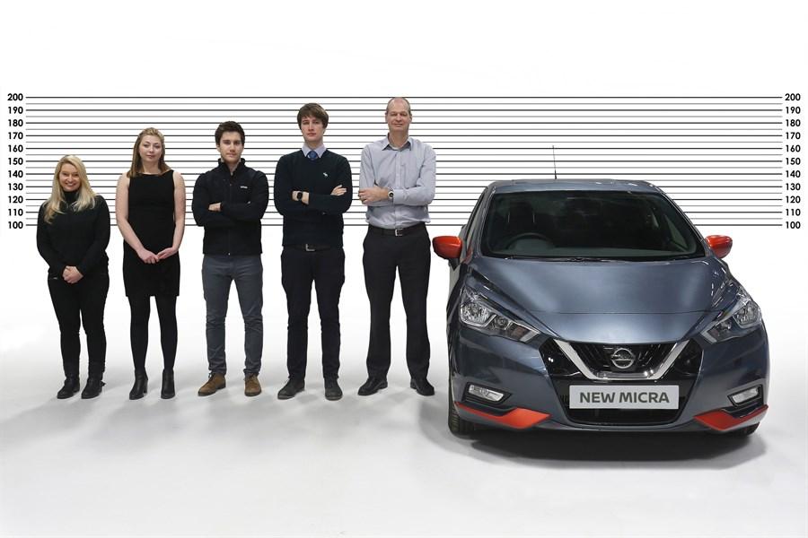 Der er plads til alle i den nye Nissan Micra