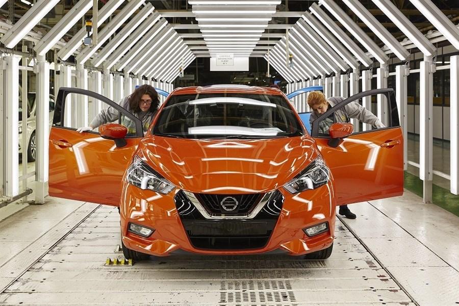 Produktionen av helt nya Nissan Micra har inletts
