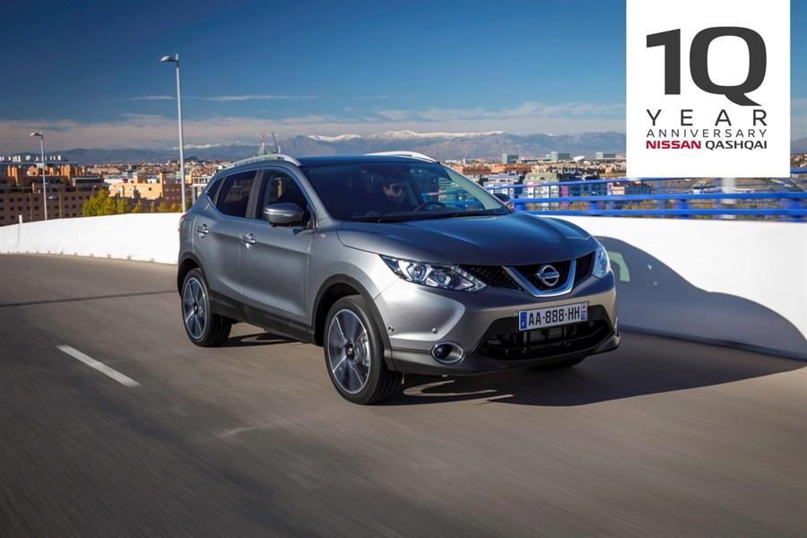 10 år siden Nissan Qashqai skapte en ny bilklasse