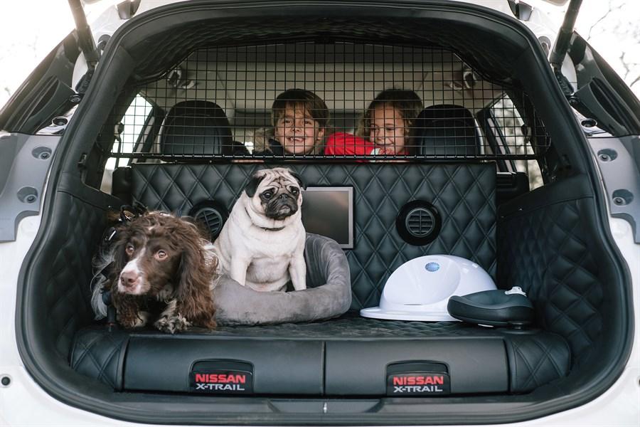 Nissan X-Trail 4Dogs: hundägarens bästa vän