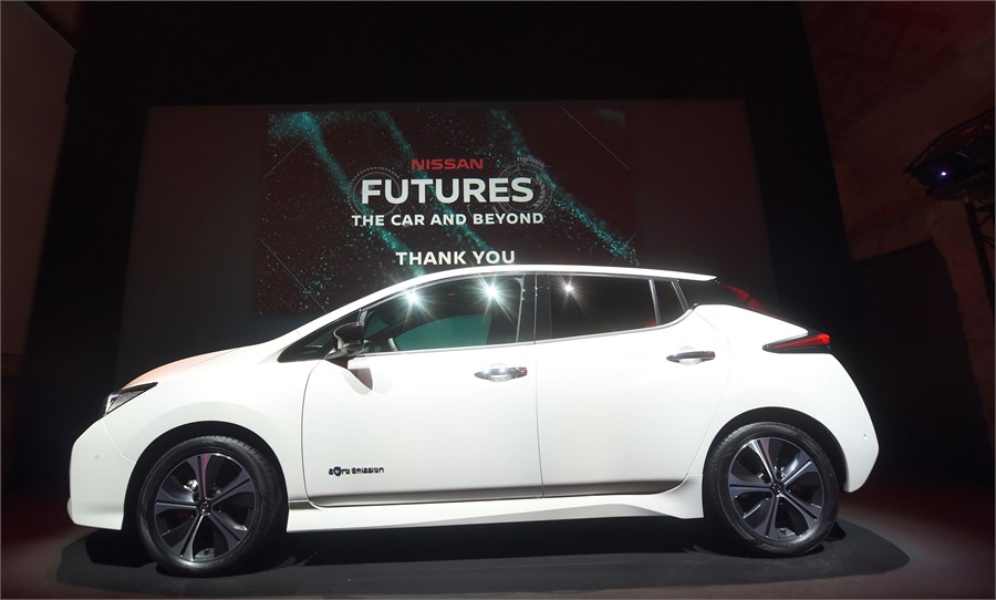 """""""Nissan Futures"""" renginyje """"Nissan"""" pristato elektros ekosistemą"""