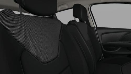 Musta-halli värvi tekstiilpolster