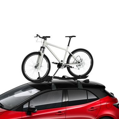 Jalgrattahoidik katusele, vasakpoolne