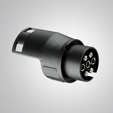 Адаптер для проводки фаркопа с 7-штырьковой розеткой (автомобиль) на 13 (прицеп)