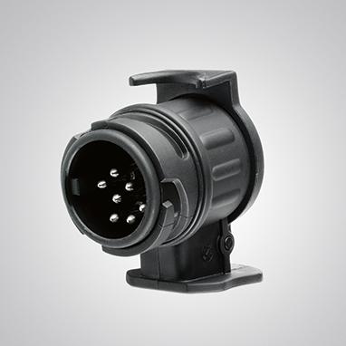 Адаптер для проводки фаркопа с 13-штырьковой розеткой (автомобиль) на 7 (прицеп)