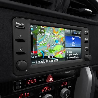Навигационная система Toyota Touch® 2 & Go