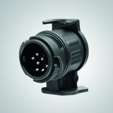Veokonksu juhtmete adapter autost (13 soont) haagisesse (7 soont)