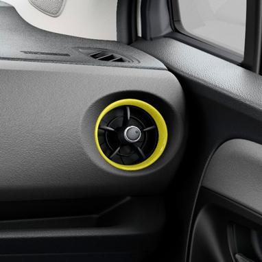 Õhuava raam – kollane