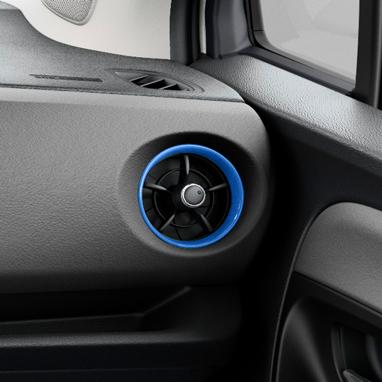 Õhuava raam – sinine, 8X2
