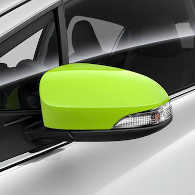 Peeglikatete komplekt – 381C Lime Green