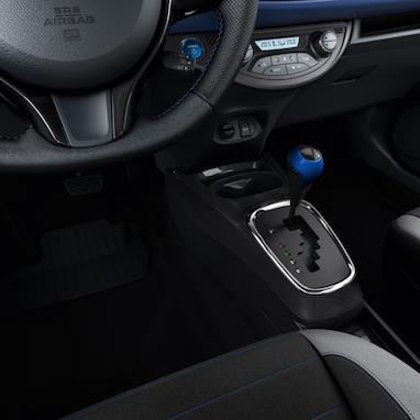 Käigukanginupp, sinine (8X2), uus pealmine plaat, kuuele käigule ja hübriidrežiimile