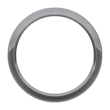 Veljekapsel – rõngas – Metallic Gray 1G3