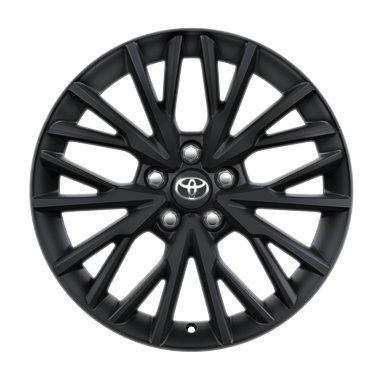 Черно-матовые легкосплавные диски 18