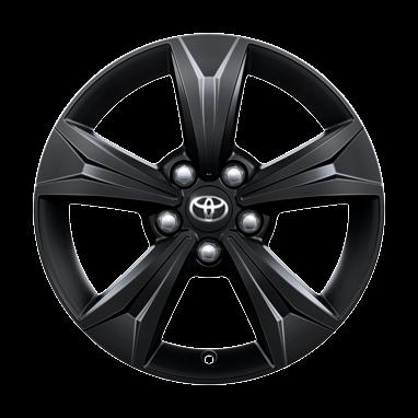 Черно-матовые легкосплавные диски 17