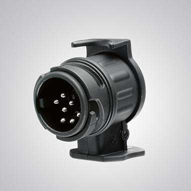 Vilkimo kablio laidų pynės adapteris, 13 kontaktų (automobilis) / 7 kontaktų (priekaba)