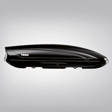 Бокс на крышу Thule Touring 600, черный глянец