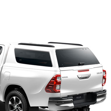 Kõvakatusega kastikate – SUPER WHITE 2 – Double Cab