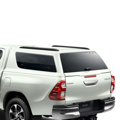 Kõvakatusega kastikate – White Pearl CS 070 – Double Cab
