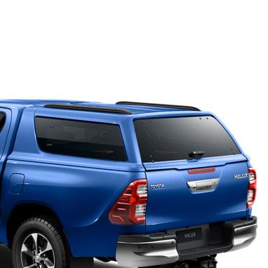 Kõvakatusega kastikate – Nebula Blue Metallic 8X2 – Double Cab