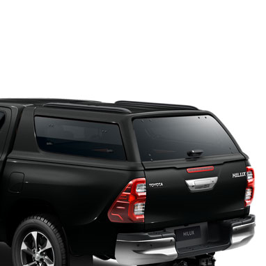 Kõvakatusega kastikate – ATTITUDE BLACK MC (218) – Double Cab