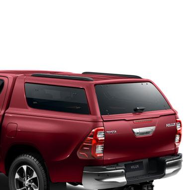 Kõvakatusega kastikate – CRIMSON SPARK RED METALLIC (3T6) – Double Cab