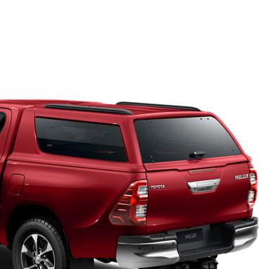 Kõvakatusega kastikate – 3U5 – Emotional Red 2 – Double Cab