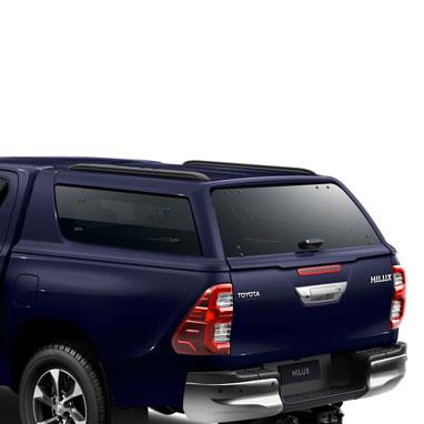 Kõvakatusega kastikate – 8X8 – Dark blue MC – Double Cab