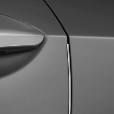 Ukseserva kaitse – 1D6 Silver metallic