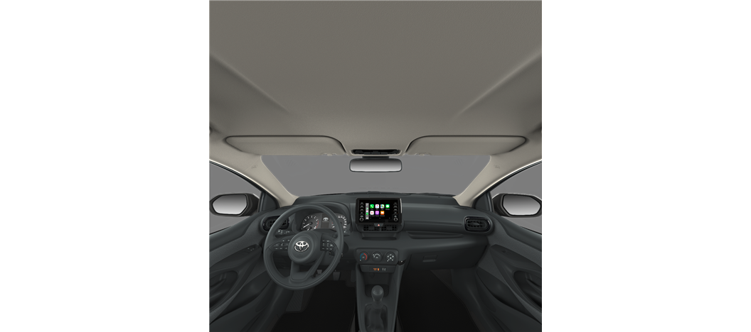 Black/Grey - Fabric or Alcantara